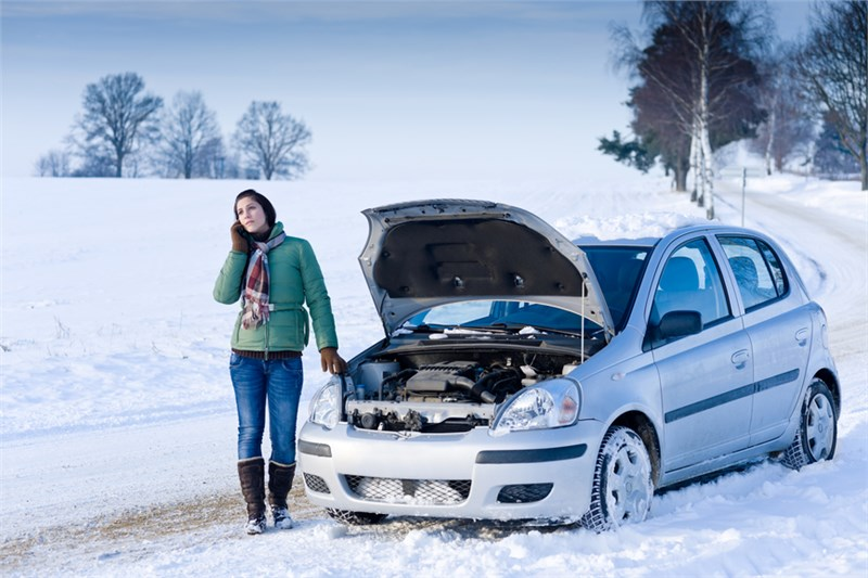 Почему в мороз автомобиль не заводится