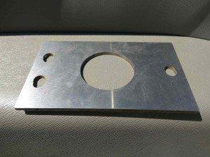 Пластины антисверлильные (сталь 60 марка)